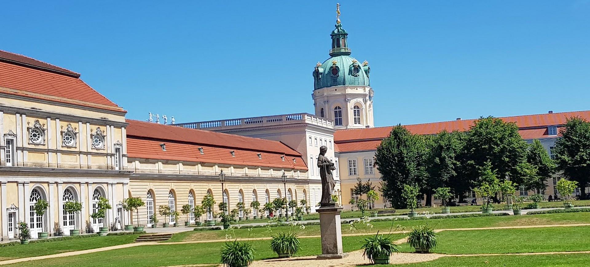 Allemagne Berlin Chateau Charlottenberg