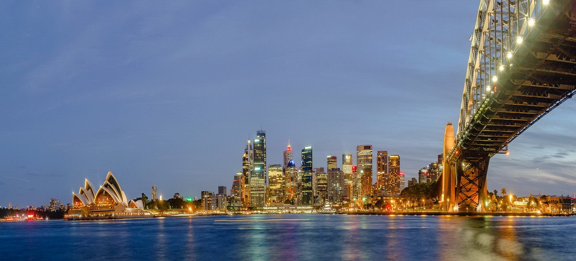Australie Sydney by night