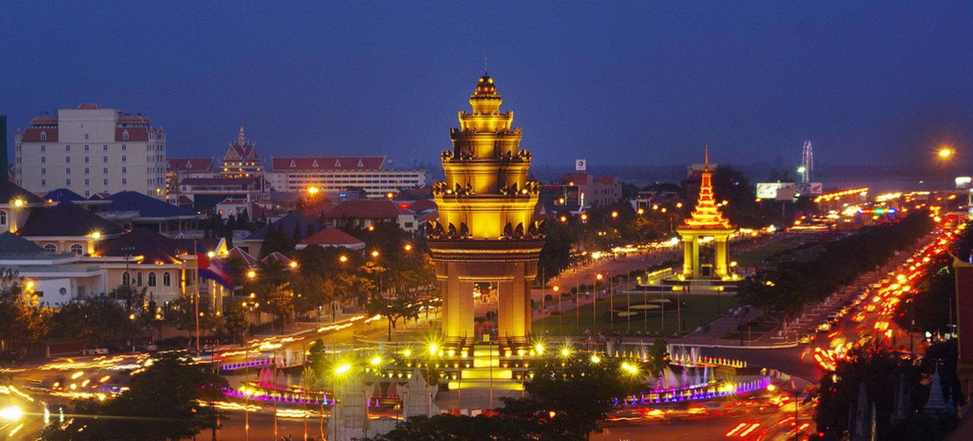 Cambodge Phnom Penh Monument de l'Indépendance