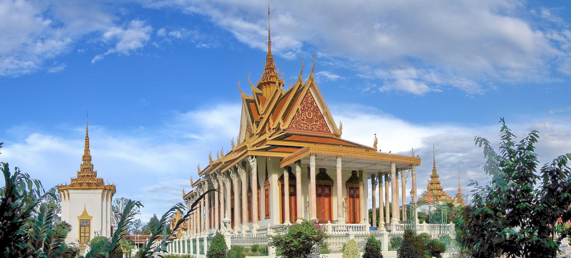 Cambodge Phnom Penh Palais Royal