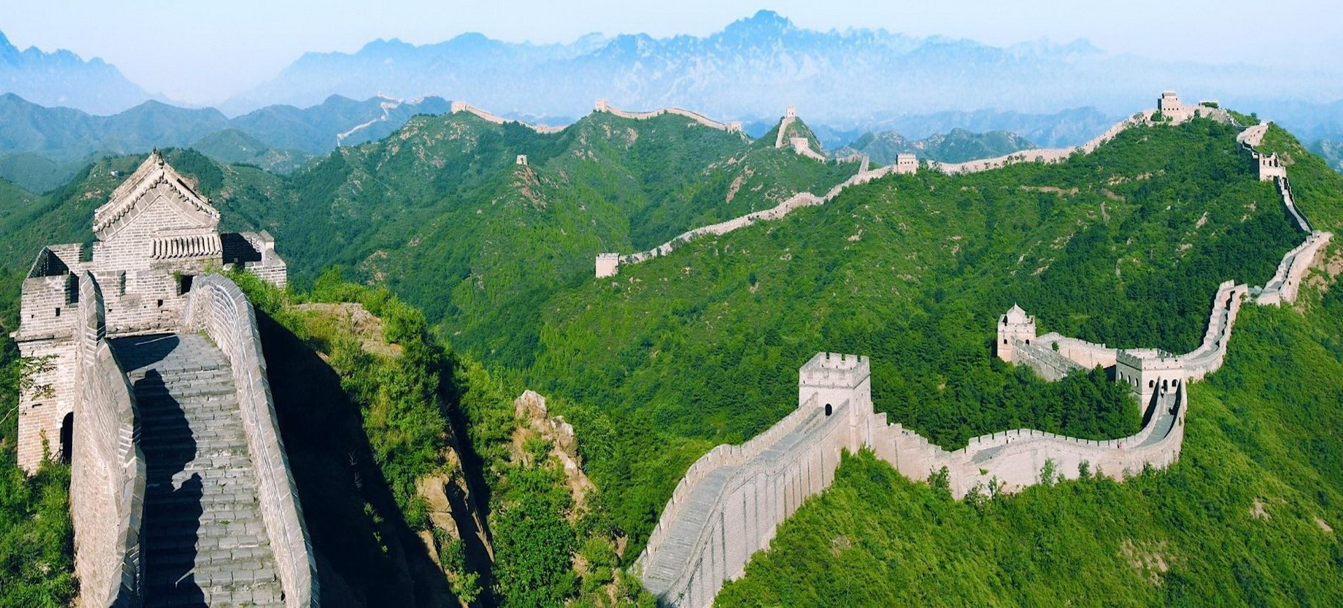 Chine Pékin Beijing Grande Muraille
