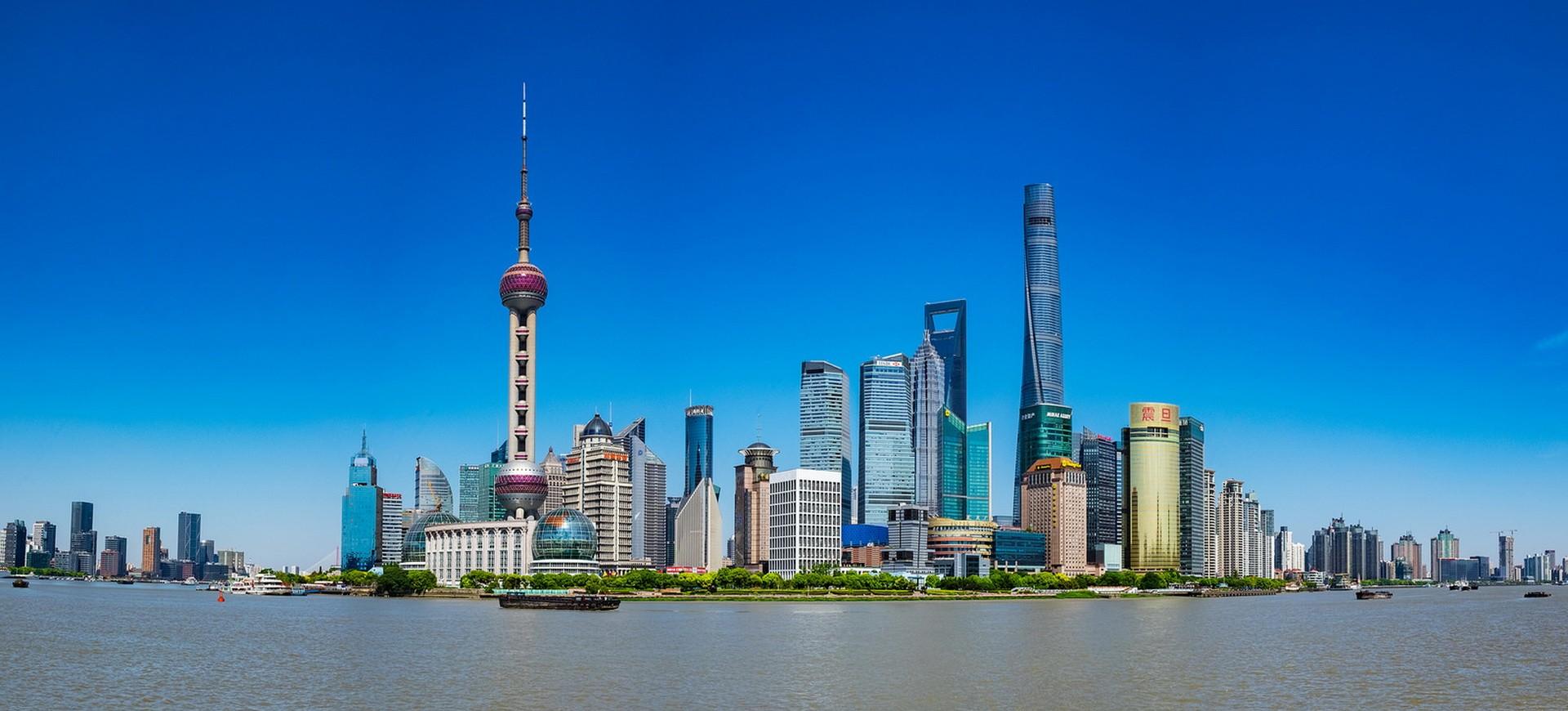 Skyline de Shanghai vu depuis le Bund