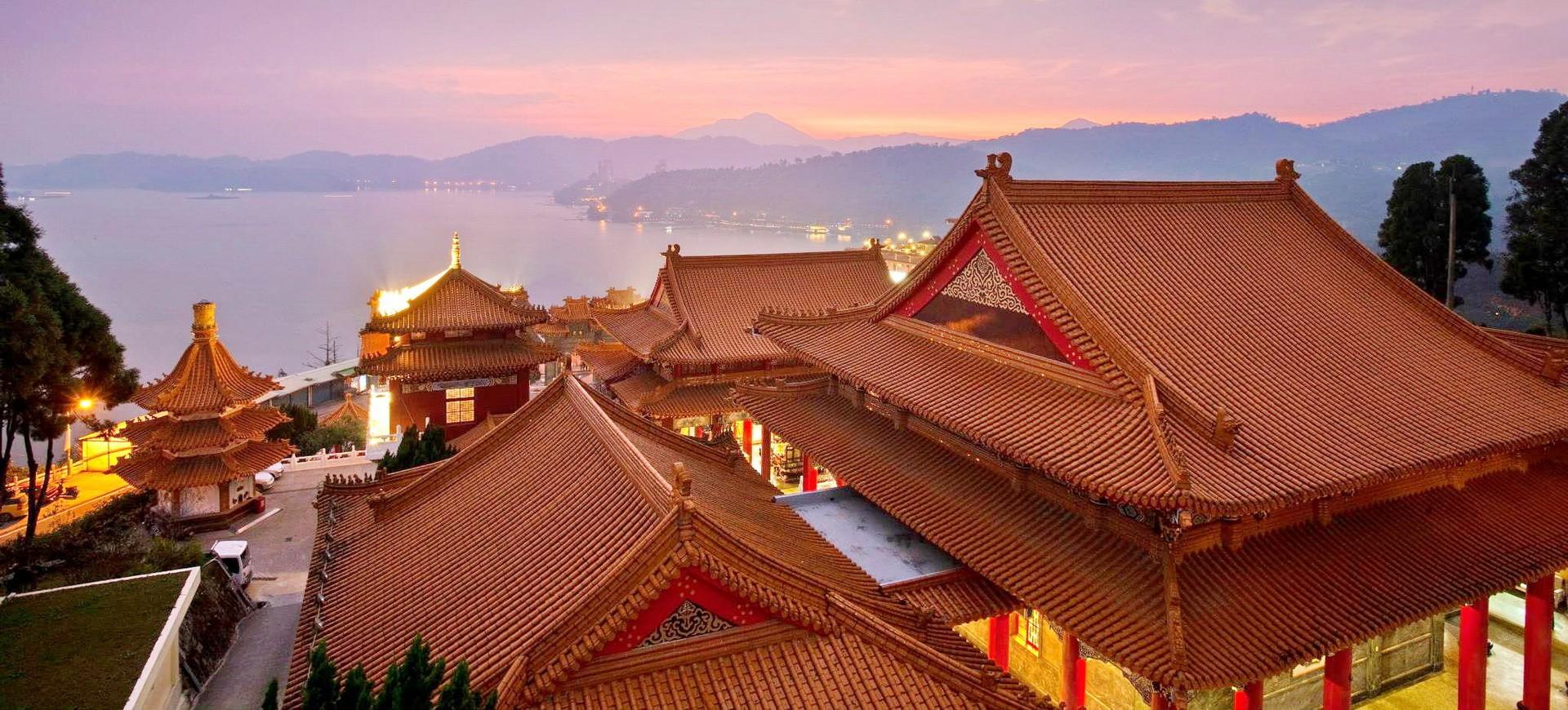 Sun Moon Lake à Taiwan