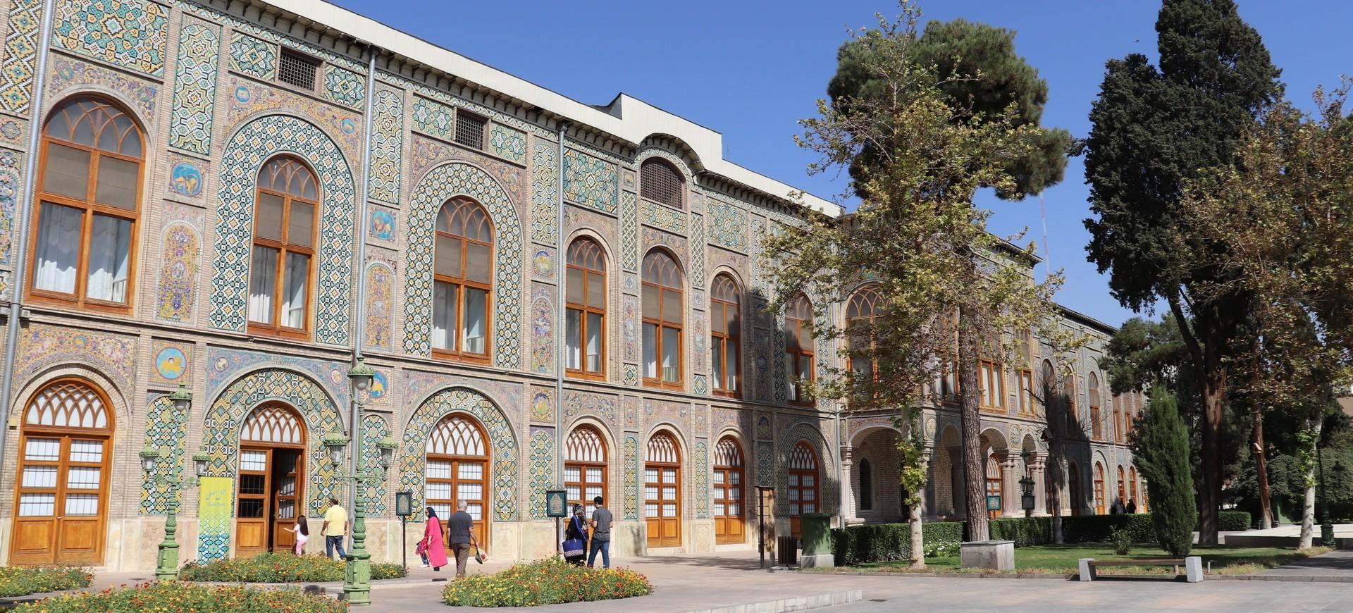 Palais Golestan à Téhéran en Iran