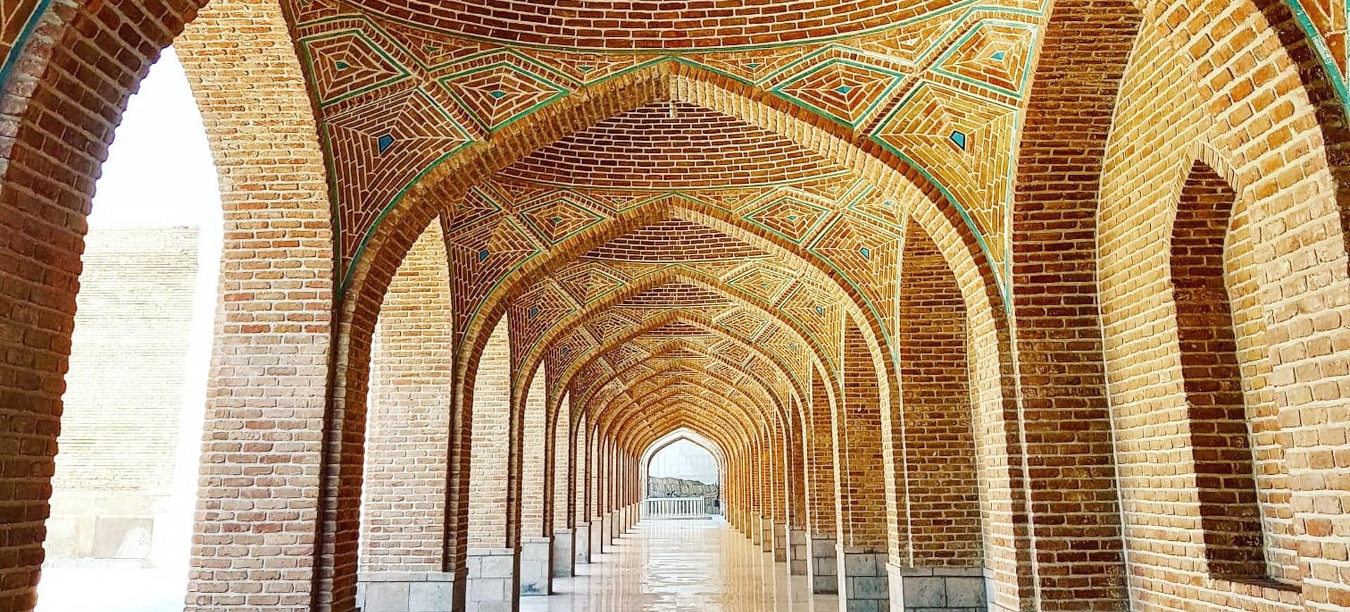 Mosquée Bleue à Tabriz en Iran