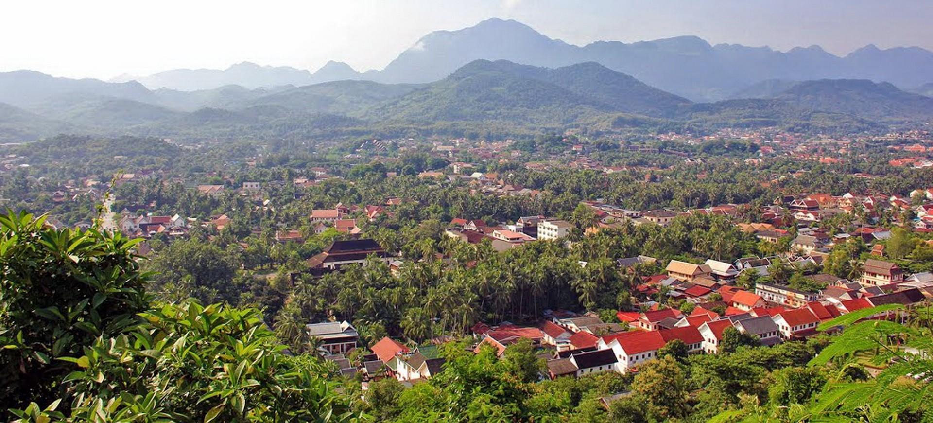 Laos Luang Prabang Phousi
