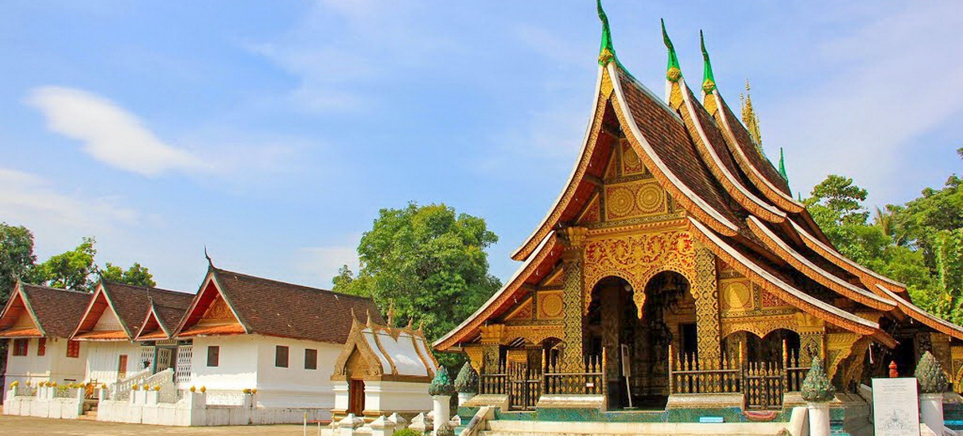 Laos Luang Prabang Vat Xieng Thong