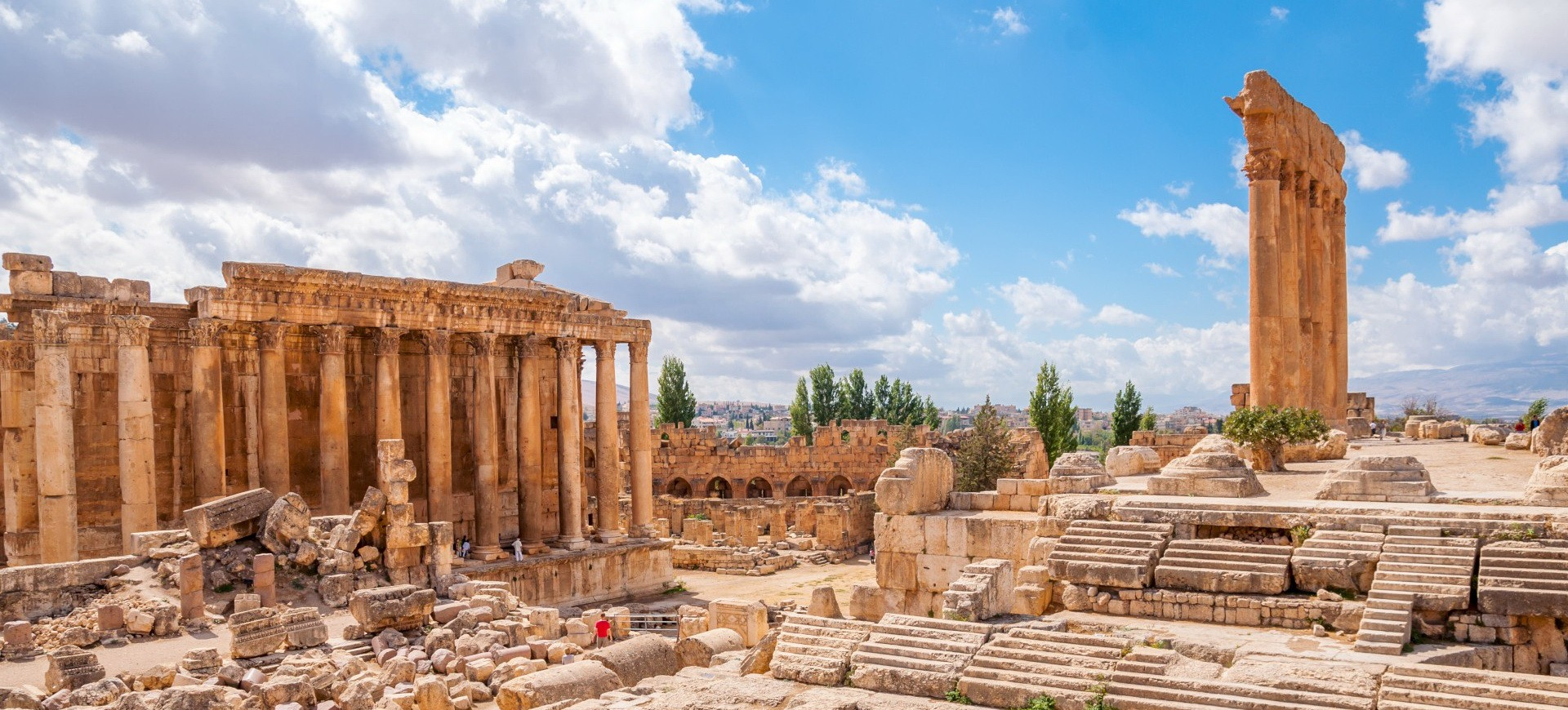 Liban Baalbeck site antique
