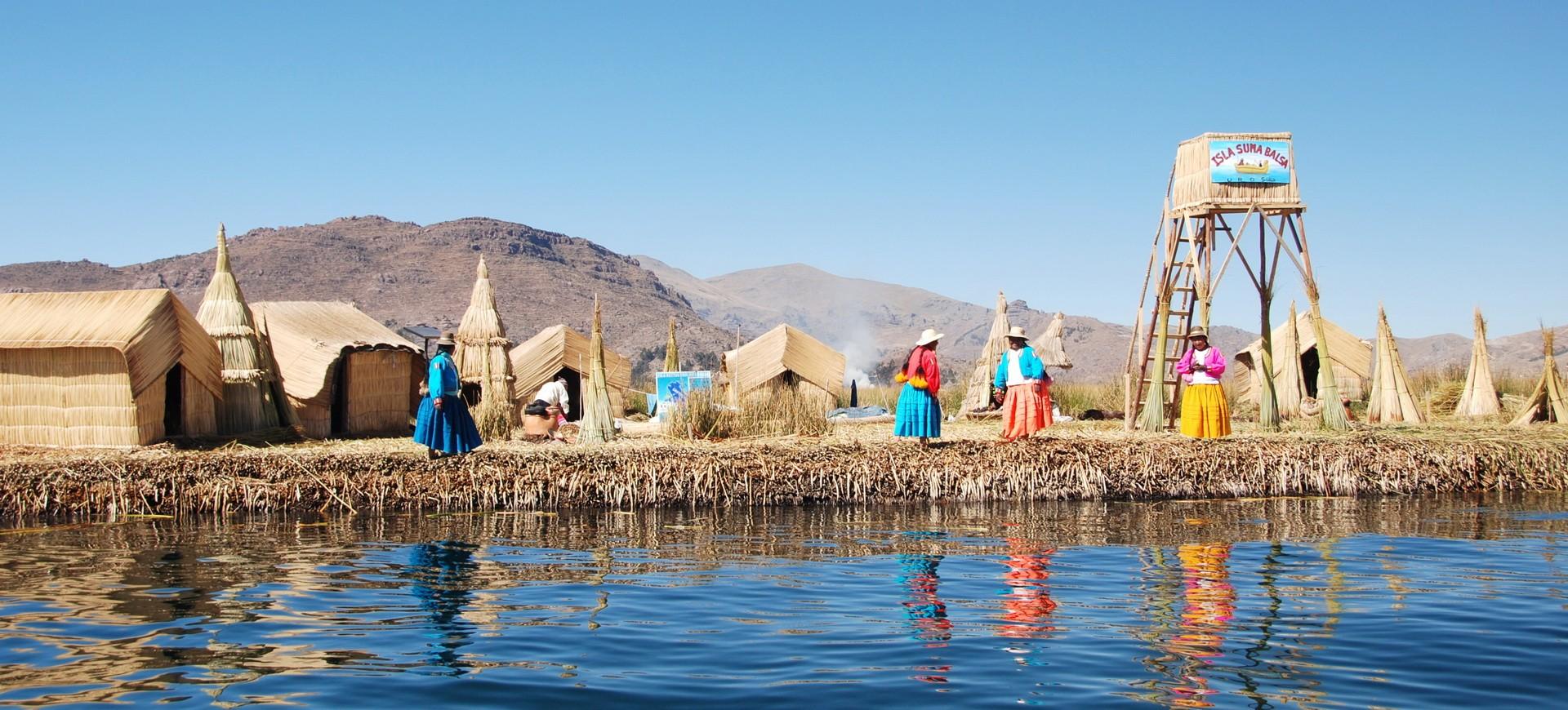 Pérou Lac Titicaca île des Uros