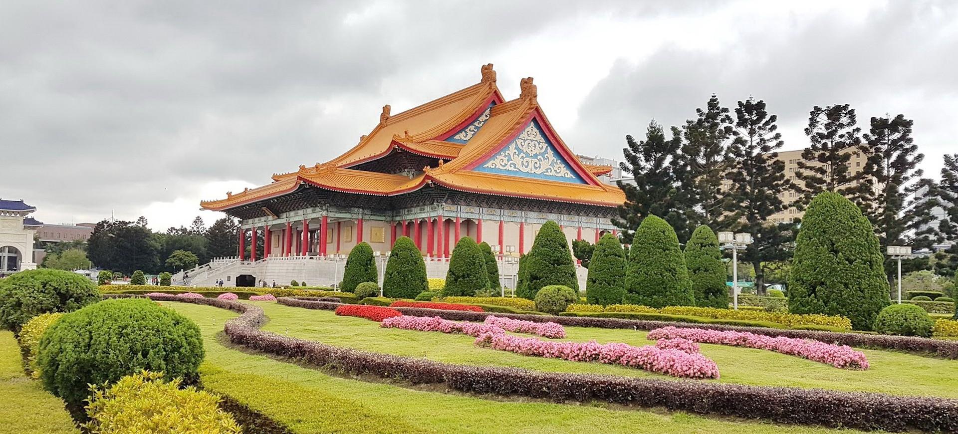 Mémorial Chiang Kai Shek à Taipei à Taiwan
