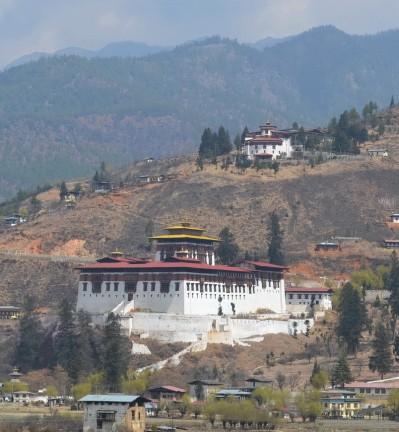 Bhoutan monastère Eagle Nest