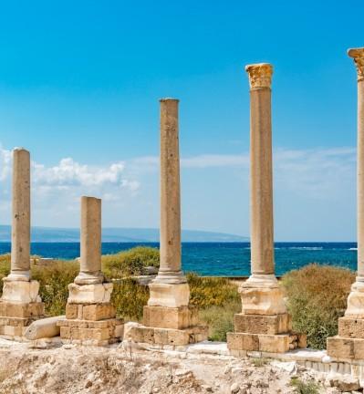 Liban Baalbeck site antique