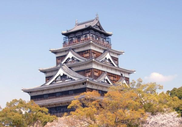Japon Hiroshima Chateau