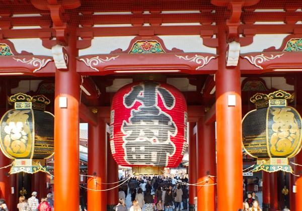 Japon Tokyo Quartier de Asakusa