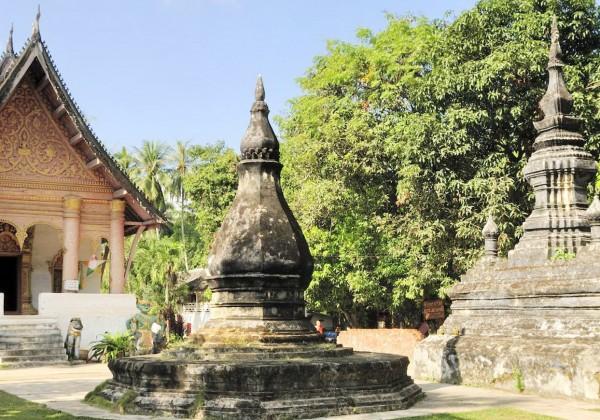 Laos Luang Prabang Vat Aham