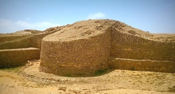 Site archéologique de Bhambore dans la province de Sindh au Pakistan, célèbre pour son histoire d'amour folklorique de Sassi et Punnu