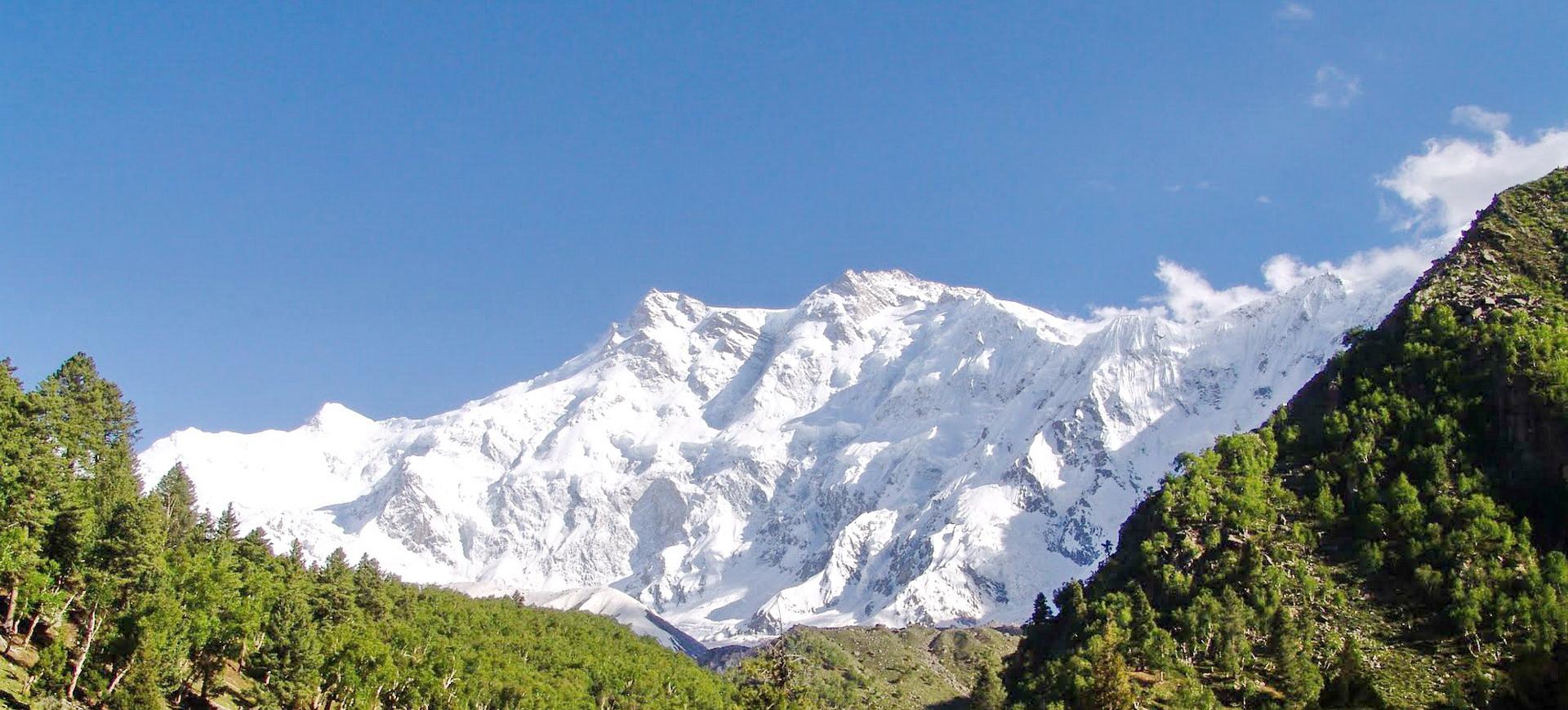 Royaume de Hunza et Glacier de Hopper au nord du Pakistan
