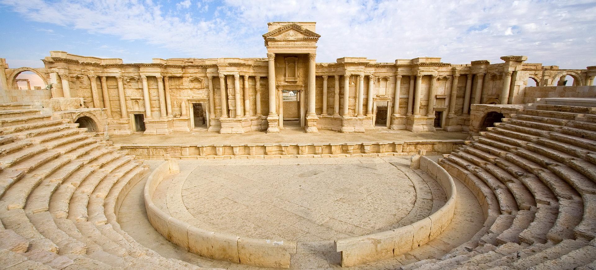 Palmyre, cité de la célèbre reine Zénobie en Syrie